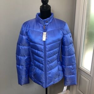 Via Spiga | Sapphire Smocked Quilted Puffer Jacket